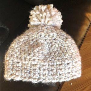 Other - Tan Crochet Hat